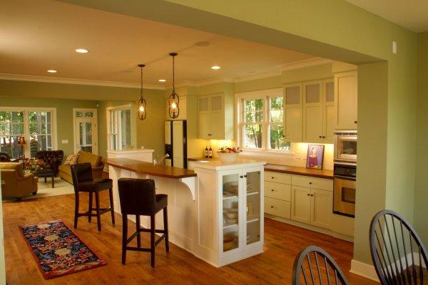 Open Floor Plan Kitchen Design Ideas