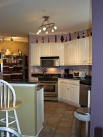 Lighting for Small Kitchens with Pendant and Under Cabinet ...