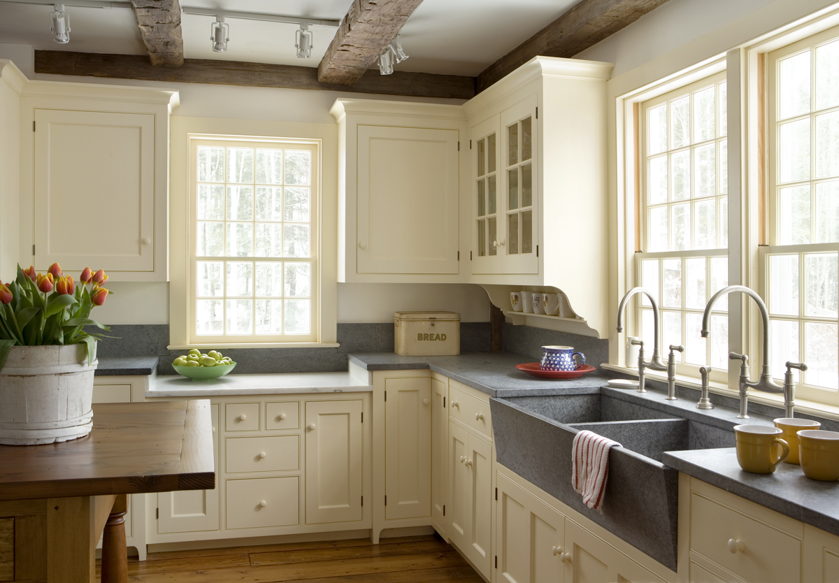farmhouse kitchen cabinets corner sinks playful design ideas for retro looks on
