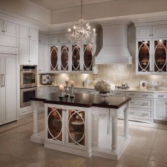 White Kitchen Cabinets Glass Doors Home Depot Ceiling Light Fixtures For Cabinet Added With Neutral Nuance