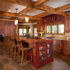 Kitchen Island Rustic Curtain Patterns Gaining Your Eccentric