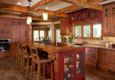 Rustic Kitchen Island Furniture
