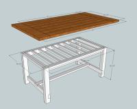 Kitchen Table Plans Free - Image to u