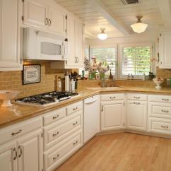 White Corner Kitchen Cabinet Wooden Trash Cans Useful Sink Design For Fresh Looked