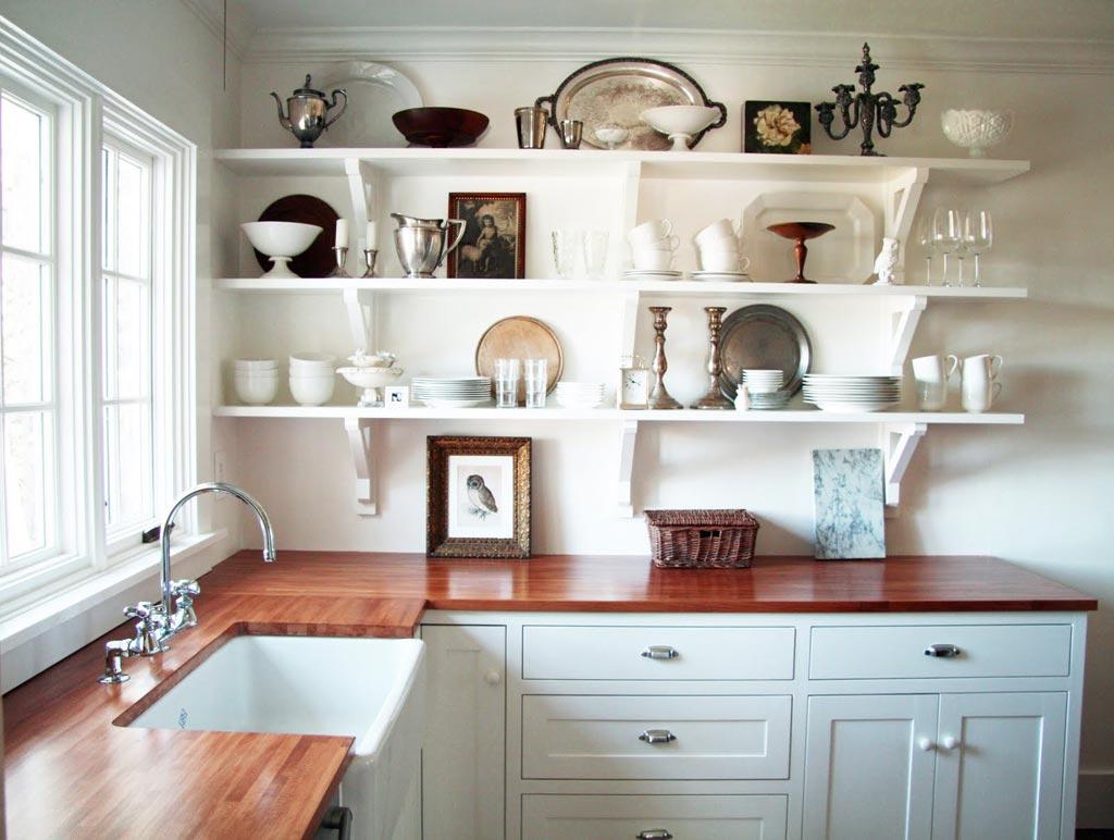 kitchen shelves ideas vinyl flooring open design for the simple person