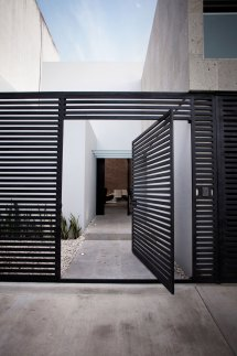 Modern Metal Fence Gates Designs