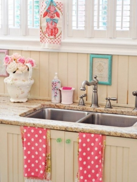 cute retro kitchen Pros and Cons of Vintage Kitchen Sinks You Have to Know