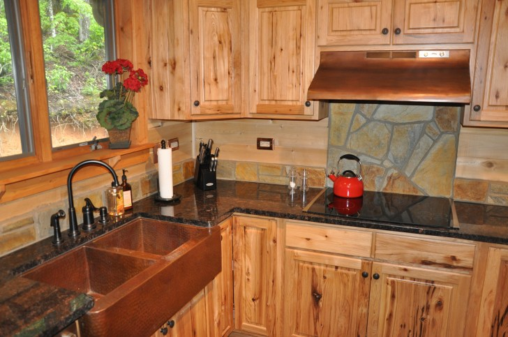Rustic Kitchen Cabinets Pin