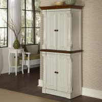 Integrating White Kitchen Pantry Cabinet for Your Storage ...
