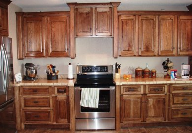 Cleaning Hickory Kitchen Cabinets