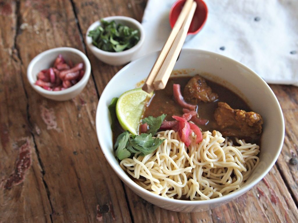 Thai Curry Noodle Soup