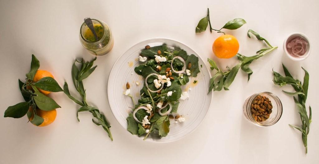 Amazing Baby Kale Salad