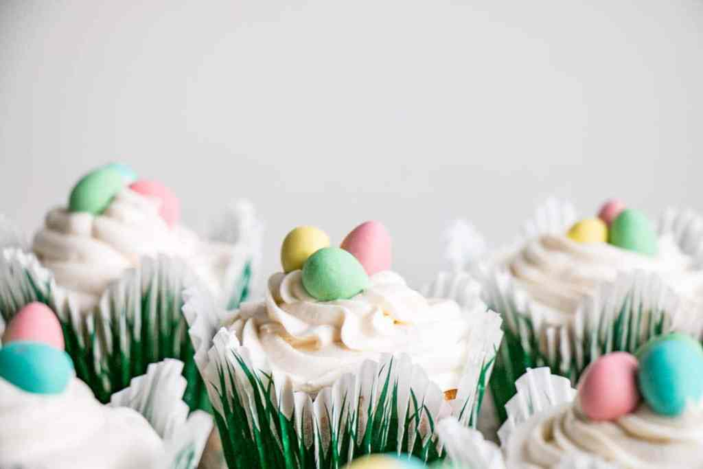 Easter Mini Egg Cupcakes