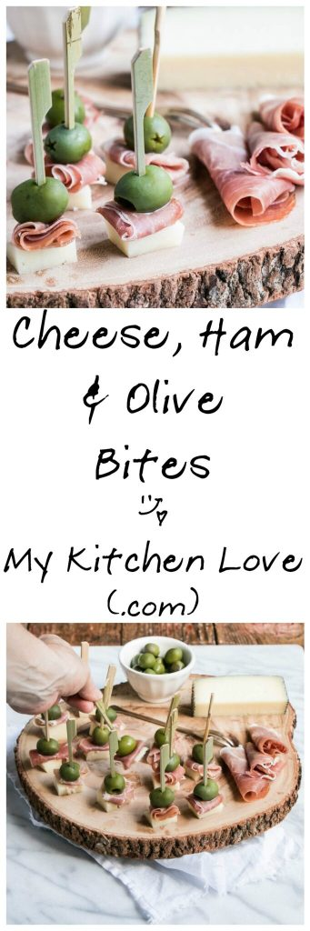 Manchego, Ham & Olive Bite | My Kitchen Love