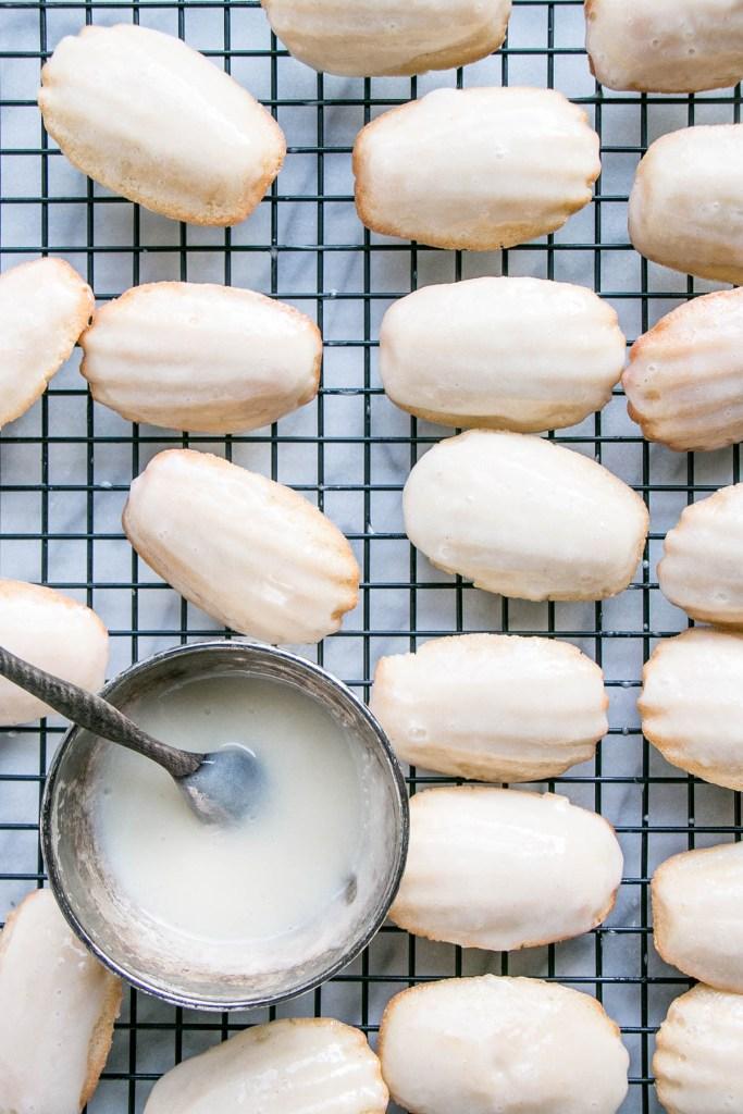 Eggnog Madeleines