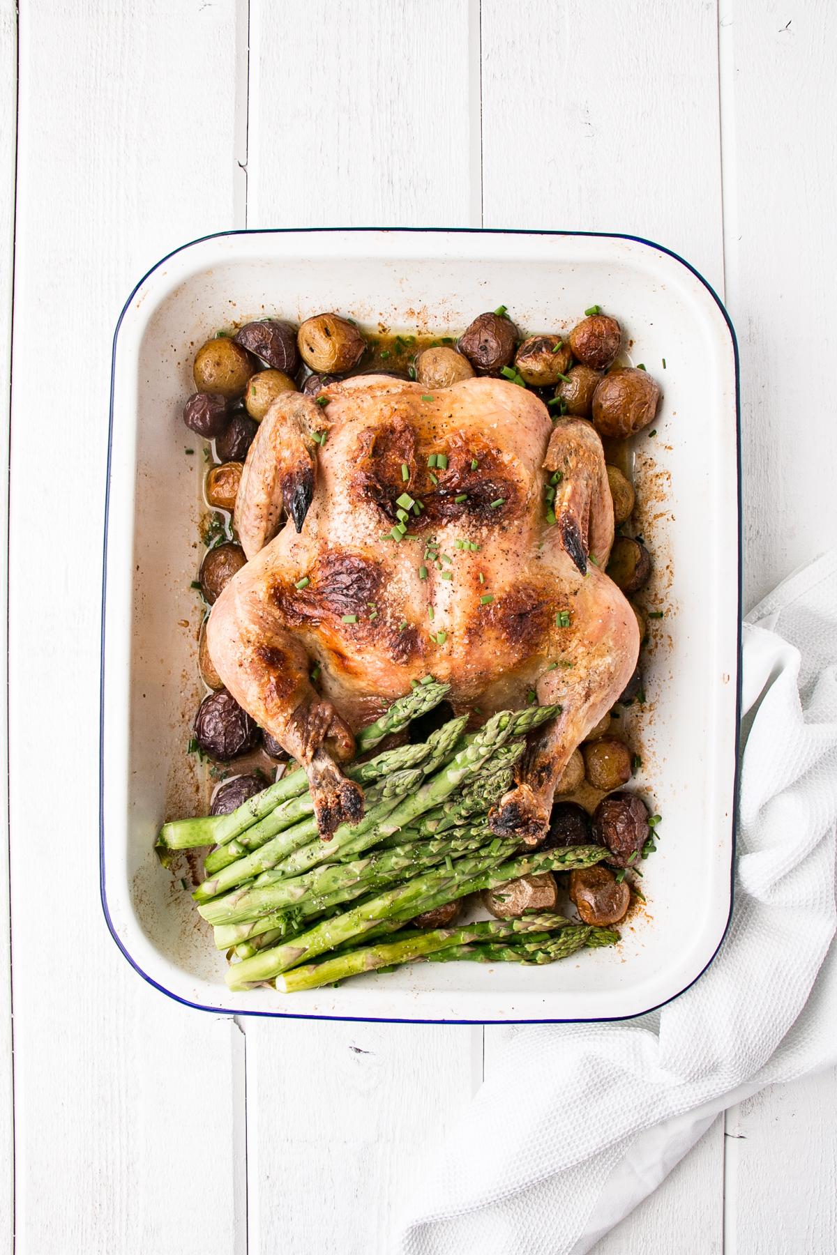 4Ingredient Roast Chicken Dinner  My Kitchen Love