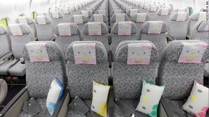Hello Kitty head rests