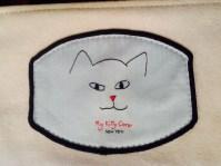 cream my kitty care iPhone wristlet