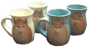 handcrafted cat coffee mugs My Kitty Care