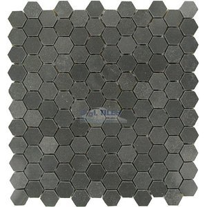 hexagon stone tiles marble mosaic tile hexagon vinchianzo polished 12 x 12 mesh backed sheet clear view mosaic tile