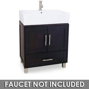 Small Bathroom Vanities 28 Bathroom Vanity In Espresso With Vessel Bowl Top Jeffrey Alexander Van054 T
