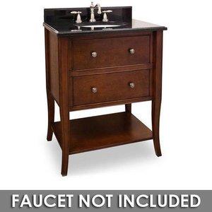 Small Bathroom Vanities 28 1 2 Bathroom Vanity In Chocolate With Black Granite Top And Bowl Jeffrey Alexander Van080 T