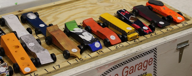 Winning at a Pinewood Derby?