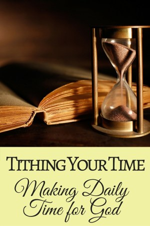 Find out 5 practical ways to make more time for God. I should do #3 more often!