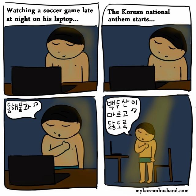 Korean anthem