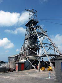Geevor Tin Mine Winding tower