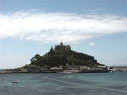 St Michaels Mount From Marazian