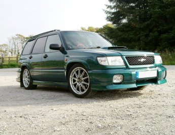 Subaru Forester STB Japanese import