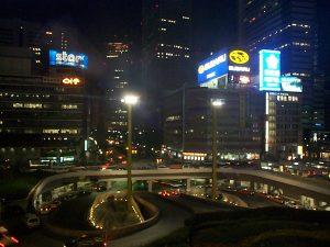 Shinjuku, Keio Plaza Hotel