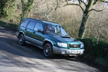 Subaru Forester Stb on 18 inch alloys - Modify a Subaru Forester Wheels and Tyres