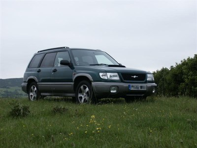 Subaru Forester Stb as imported from Japan.
