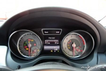Mercedes CLA Dials