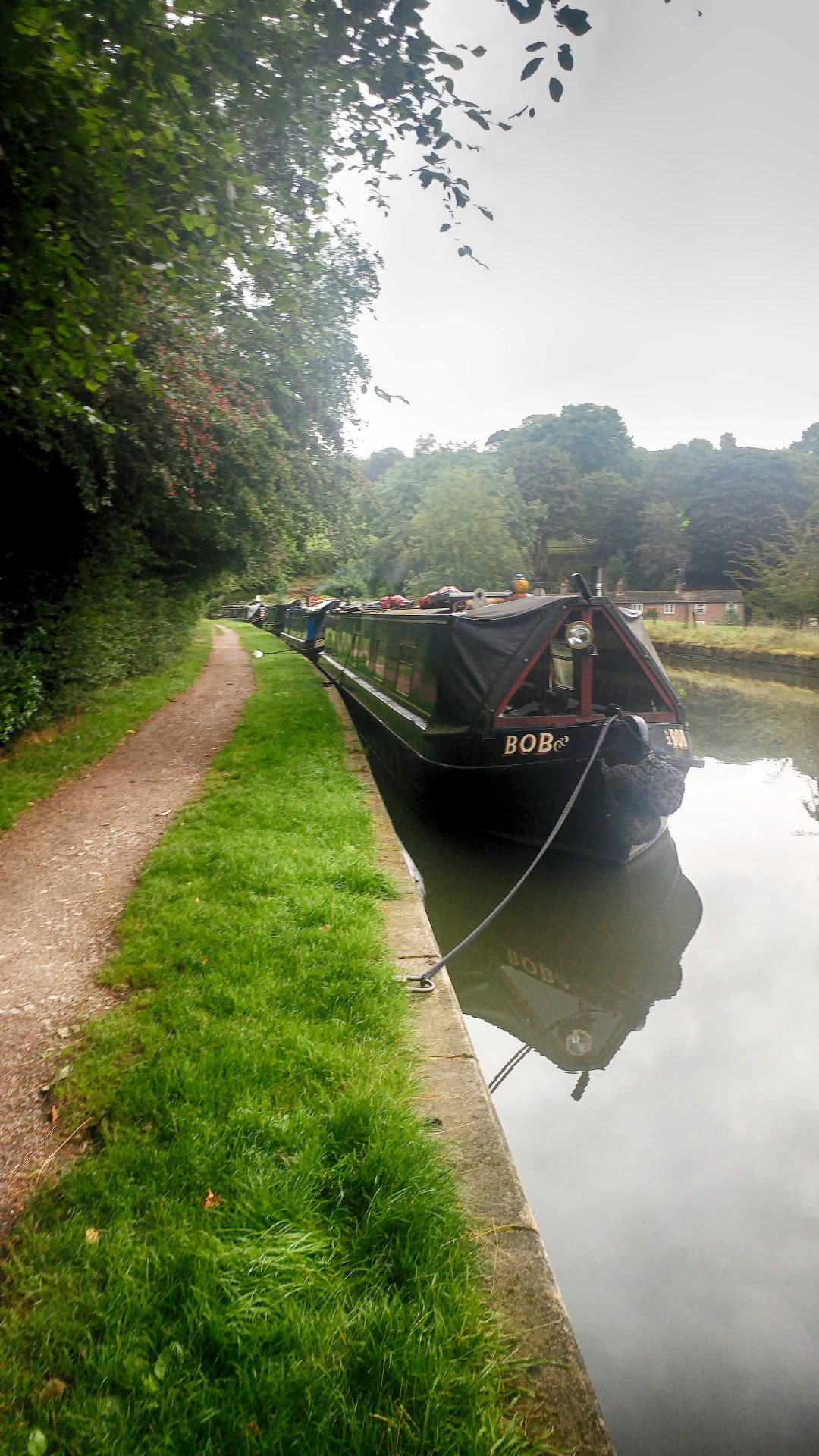 Canal boat BOB in now in colour