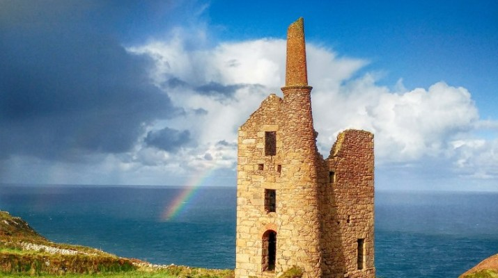 Wheal Owles, the BBC Poldark Mine building