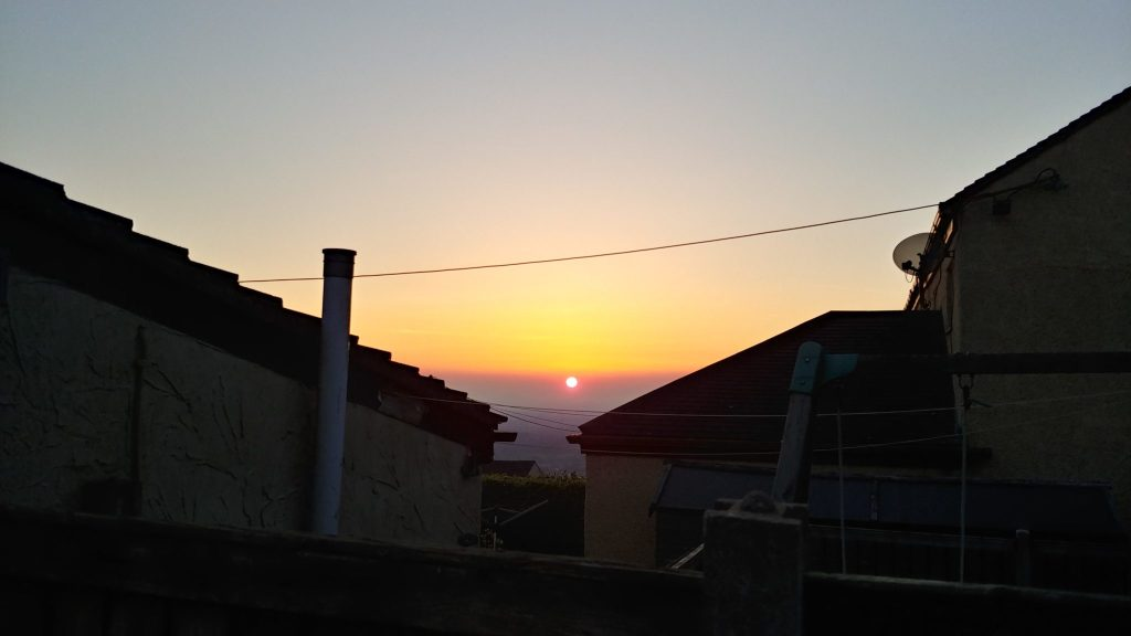 Self Isolation Sunset