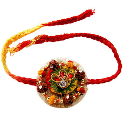Rakhi is a sacred thread, which is used for celebrating Raksha Bandhan in 2015