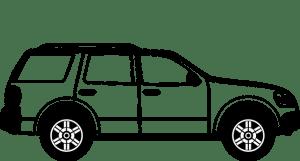 SUV car