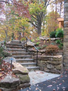 Image of stone steps