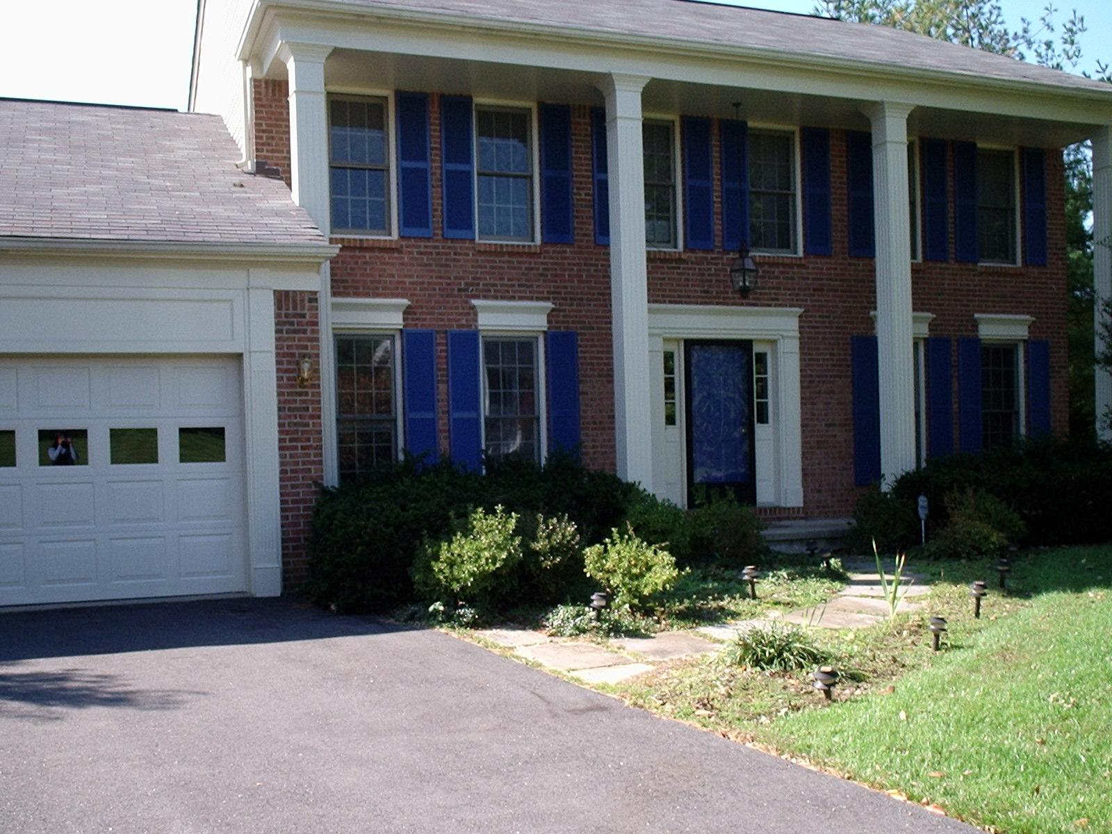 Photo of front walkway