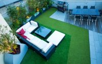 Artificial grass garden design | outdoor synthetic grass ...
