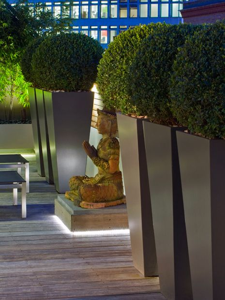 Modern outdoor sculpture  Mylandscapes contemporary