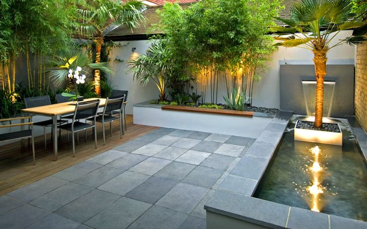 Hampstead garden design  Mylandscapes garden designers London