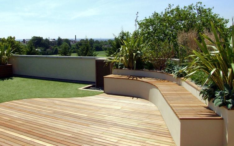 Sky Roof Garden Design London Contemporary Roof Gardens