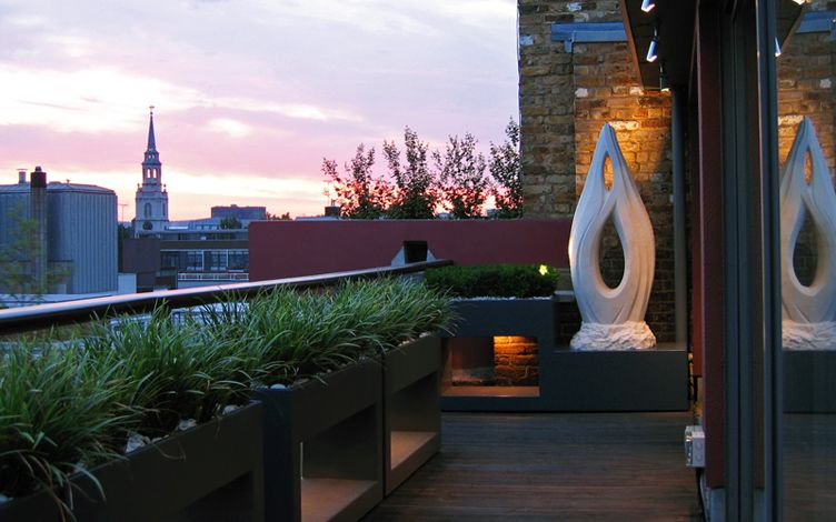 Rooftop Landscaping Clerkenwell Roof Terrace Mylandscapes