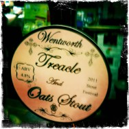 Treacle and Oats Stout – Wentworth Brewery (223)