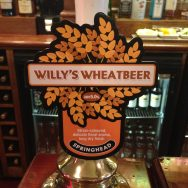 Willy's Wheatbeer - Springhead Brewery